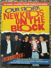 Our Story: New Kids On The Block Autobiography 1990 ~ NKOTB