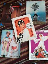 More details for job lot vintage 60s theatre programmes  - julie andrews - millie, star, lili etc