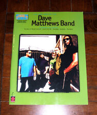 SONGBOOK: Very Best of Dave Matthews Band DMB 2002 Too Much Satellite Song Book