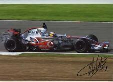 Pedro De La Rosa McLaren MP4-21 F1 Season 2006 Signed Photograph 14