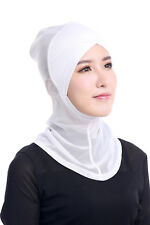 Ramadan Muslim Islamic Women Cross Easy Sport Cap Hijab Headwear Shawl Scarf New