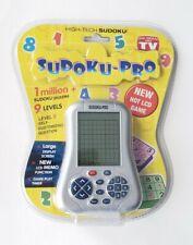 SUDO-Q-MATE PRO Handheld Electronic Game SUDOKU Puzzles Handheld NEW