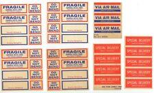 c1950s Employ Epileptics mail services sticker group