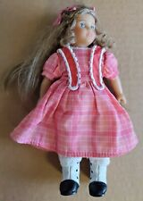 """American Girl Doll Mini 6"""" Marie Grace With Outfit Cloth Body Nice!"""