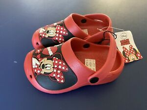 🔴Disney Minnie Mouse Girls Sandal In Brand new size C8