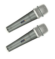 DEX-57 Dynamic Supercardioid Dynamic Vocal / Instrument Microphone 2 Set-UK