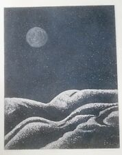 """Lunar I"" Artist Proof Serigraph/Print-19"" x 15"" Irene Scheinmann"