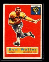 1956 TOPPS #102 RON WALLER RAMS  EX D026291