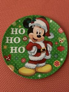 Christmas Disney Mickey Mouse Dinner plate Size 20cm