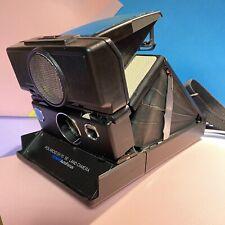 Custom Polaroid SX-70 SE Land Camera AF Version w/ Strap! Film Tested Lomo Retro