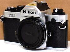 *** NEAR MINT  *** Nikon FM2N 35mm Chrome Camera Body