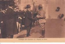 A7795) SCOUTISMO CNGEI 1° REPARTO DI ROMA, ANNI 20, CONSEGNA DELLA BANDIERA.