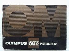 Olympus OM-2 original printed instruction manual