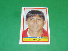 N°45 EDUARDO MELGAR BOLIVIA PANINI FOOTBALL COPA AMERICA 2007