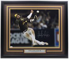 Fernando Tatis Jr. Signed Framed San Diego Padres 16x20 Throw Photo JSA