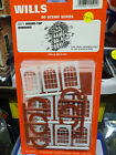 Wills SS71 Round Top Windows Kit OO scale