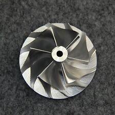 GT30 GT35 Turbo Billet Compressor Wheel 6+6 blade 6.35 shaft bore GT3582 61.4/82