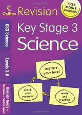 Collins KS3 Revision - KS3 Science L3-6: Revision Guide + Workbook + Practice P