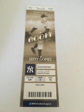 Dallas Keuchel Win #36 9 Ks August 25 2015 8/25/15 Yankees Astros Full Ticket