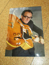 ELVIS COSTELLO Originalautogramm GROSSFOTO!
