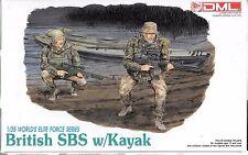DML Modern Elite British SBS w/ Kayak, Figures in 1/35 3023  ST