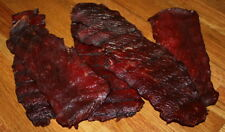 Hickory Smoked Sweet + HOT Ghost pepper!! 1/2 pound Wisconsin  Beef Jerky