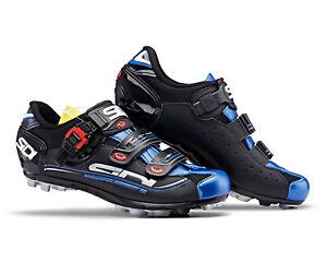 SIDI Eagle 7 MTB Shoes - Black/Black/Blue