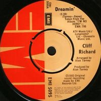 "CLIFF RICHARD dreamin'/dynamite EMI 5095 uk emi 1980 7"" WS EX/"