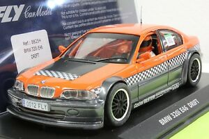 FLY 88254 BMW 320i E46 22,000 RPM MOTOR NEW 1/32 SLOT CAR IN DISPLAY CASE