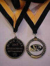 CUSTOM SCHOOL LOGO MEDAL LARGE MEDALLION TEAM AWARD FREE ENGRAVING FREE SHIPPING