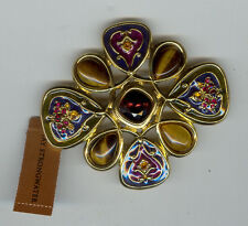 JAY STRONGWATER CABOCHON PIN new in box 175.00