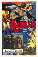 Batman & Robin 1949 movie poster reproduction 24x36 inches
