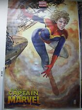 CAPTAIN MARVEL POSTER by Milo Manara -NEW ROLLED - mcu - WOMEN of MARVEL 24 x 36