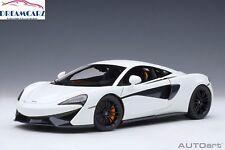 AUTOart 76041 1:18 McLaren 570S - White with Black wheels