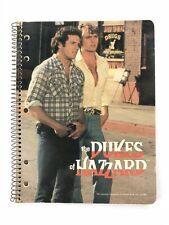 Vintage Dukes of Hazzard Spiral School Notebook Bo Luke Duke 1981