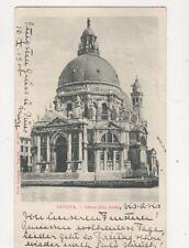 Venezia Chiesa Della Salute Italy 1900 U/B Postcard Gobbato 402b