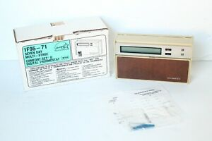 White Rogers 1F95-71 7Day Multi-Stage Comfort-Set II Digital Thermostat Beige