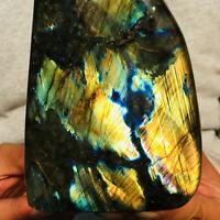1616g Natural Flash Labradorite Energy Healing Gemstone Mineral Specimen