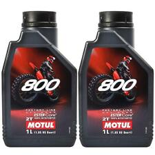 Motul 800 2T Factory Line Off Road 2 Stroke Motorcycle Engine Oil - 2 Litre