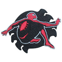 Spiderman Shadow Superman Logo Patch Iron On Sew On Badge Embroidered Patch