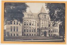 Childs Real Photo Postcard RPPC - Central School Evanston Illinois