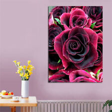 ROSE Full Drill DIY 5D Diamond Painting Embroidery Cross Crafts Stitch Kit Decor