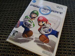 MarioKart (Nintendo Wii Video Game) Mario Cart Complete & TESTED
