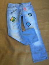 Versace Jeans Couture Very Rare Find! Blue Patch Jeans