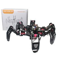 18DOF Hexapod Robot Spider Robot 2DOF PTZ with Main Board for Raspberry Pi 3B+