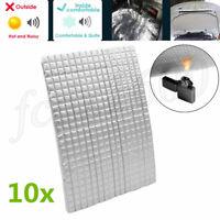 10mm Car Soundproofing Mat Aluminum Foil Self-adhesive Fire Heat Insulation Foam