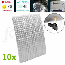 10mm Car Soundproofing Mat Aluminum Foil Self-adhesive Fire Heat Insulation Foam