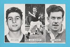 FOOTBALL - D.C. THOMSON -  CUP - TIE  STARS  OF  ALL  NATIONS  CARD  (K) -  1962