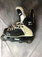 CCM Tacks RH155 Inline Roller Blades Street Hockey Skates Vintage Black Size 6.5