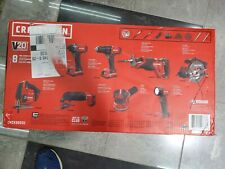 NEW! Craftsman V20 20V Max 8 Tool Combo Kit CMCK800D2